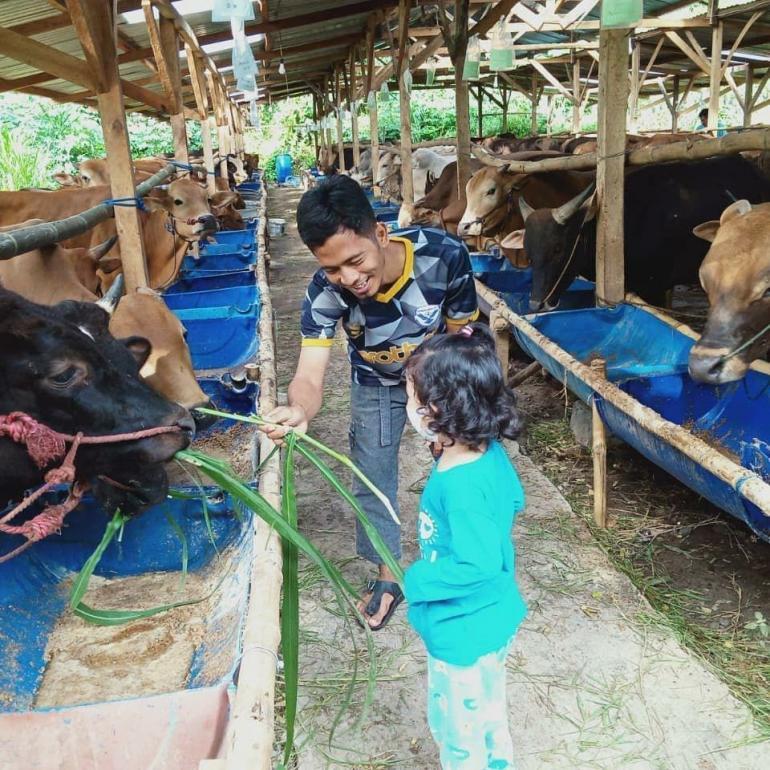 Kisah Hari Bowo, Owner Villa Ternak Indonesia